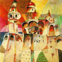 Natalia Goncharova, tretyakov gallery, tour of moscow, tretyakov gallery tour, russian avant-garde